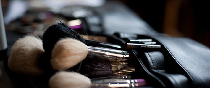 Helena Aguirre's Makeup Brushes